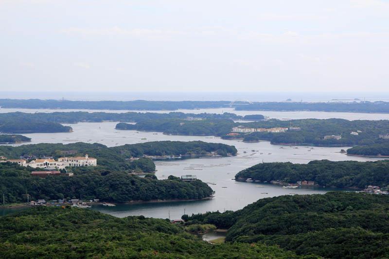 横山展望台からの眺め
