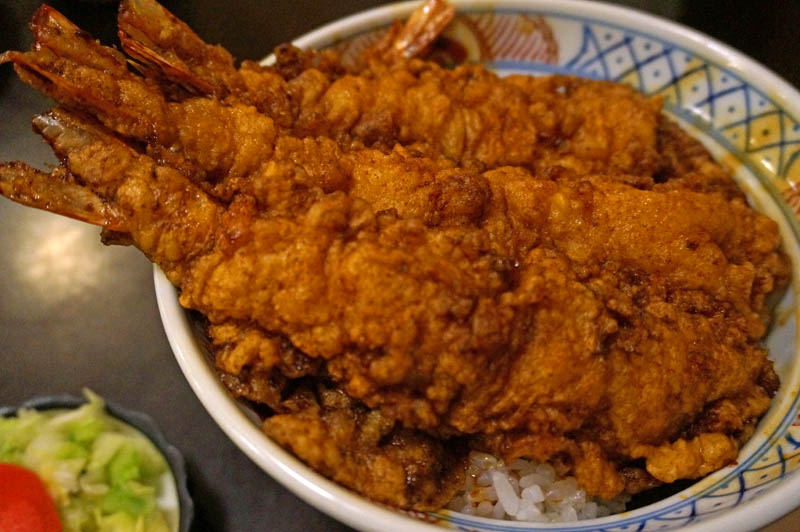 大黒家の海老天丼