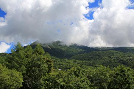 女の神展望台からの横岳