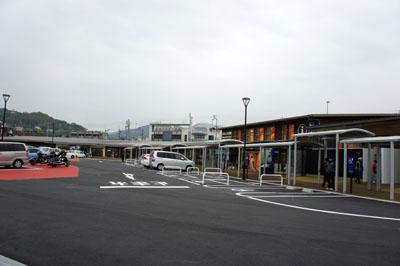 道の駅八幡浜みなっと駐車場