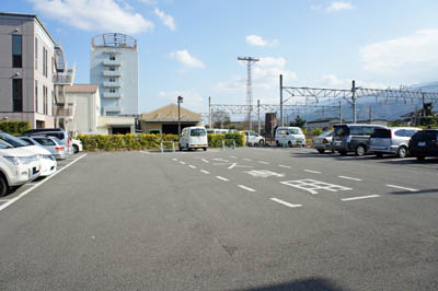 鉄道歴史パークin SAIJO 四国鉄道文化館駐車場