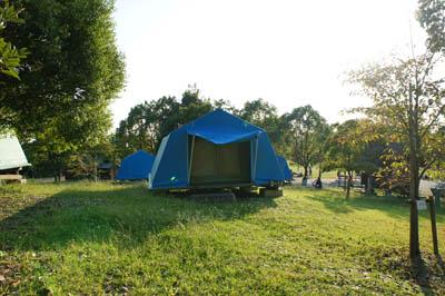レインボーハイランドバーベキューハウス常設テント
