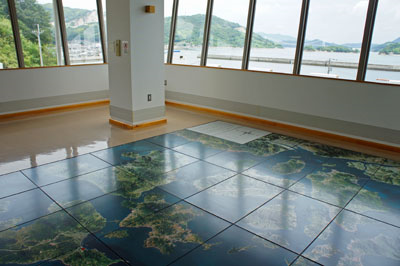 村上水軍博物館展望室