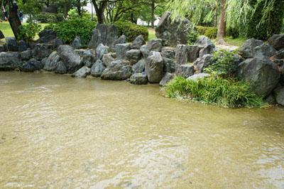 杖ノ淵公園の湧水