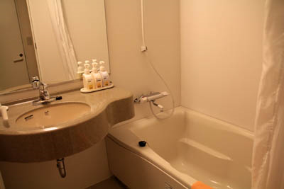 ファミリーロッジ旅籠屋桑名長島店バスルーム