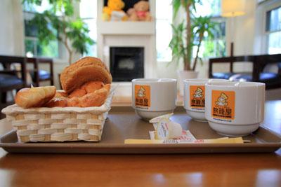 ファミリーロッジ旅籠屋桑名長島店朝食