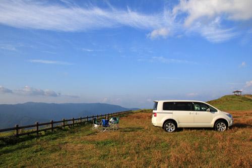 四国カルスト姫鶴平デイキャンプ