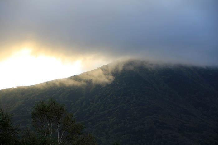 男体山の日の出