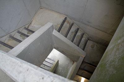 カレイ山展望台内部
