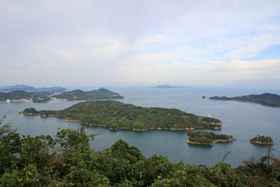 カレイ山展望台からの展望