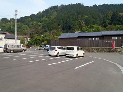 湯之谷温泉駐車場