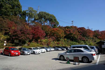 太閤の湯駐車場