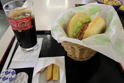 阿波尾鶏テリヤキバーガー
