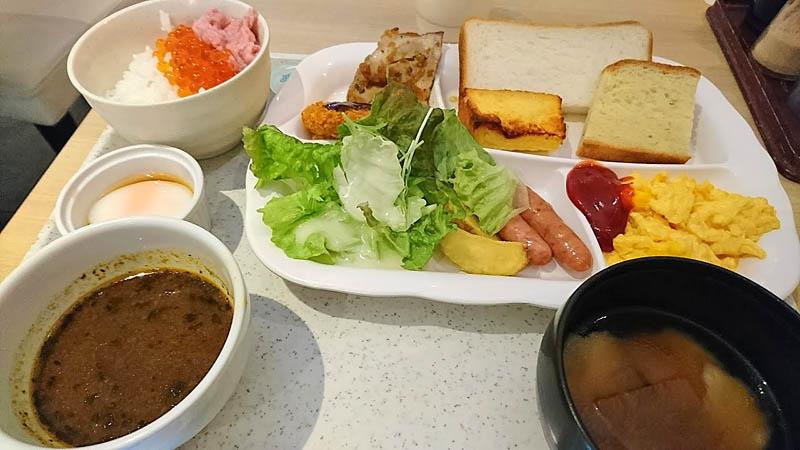 ダイワロイネットホテル盛岡朝食