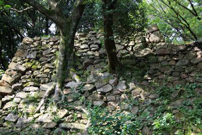 洲本城石垣
