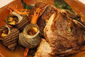 アジュール汐の丸夕食