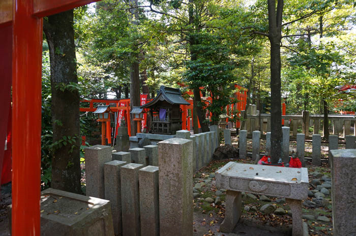 東伏見稲荷神社お塚参拝