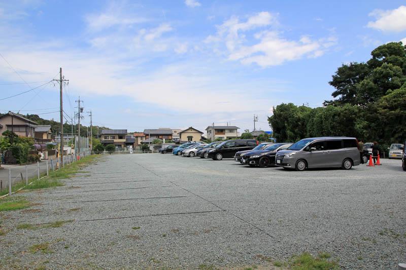 猿田彦神社駐車場
