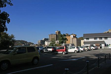 冠山駐車場