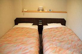 リゾートインノースカントリーベッドルーム