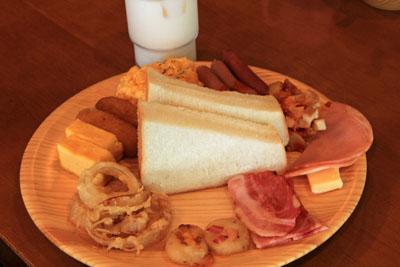 リゾートインノースカントリー朝食
