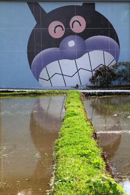 高知アンパンマンミュージアム壁画