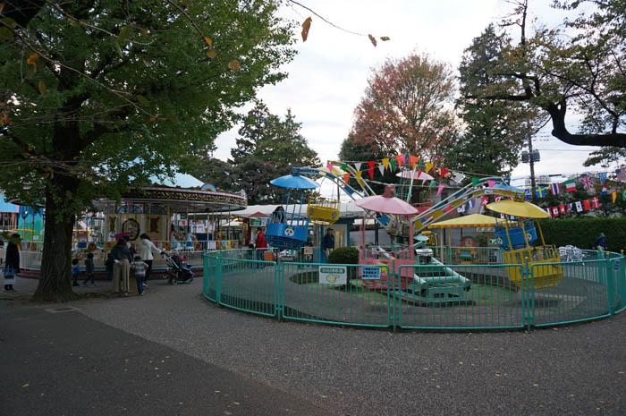 井の頭自然文化園ミニ遊園地