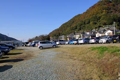 白滝無料駐車場