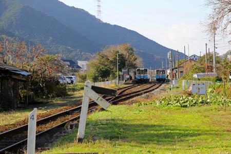 予讃線白滝駅