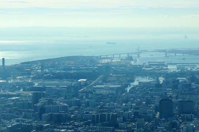 東京スカイツリー天望回廊からの東京ゲートブリッジ