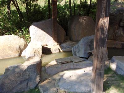 黒川温泉こうの湯足湯