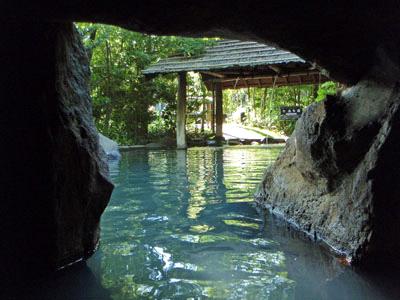 黒川温泉こうの湯洞窟風呂