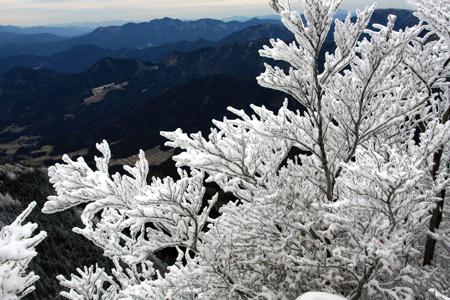 冬の石墨山