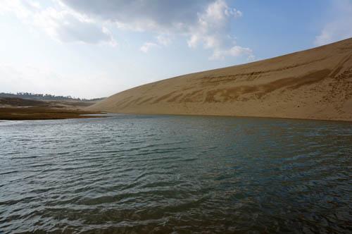 鳥取砂丘の池