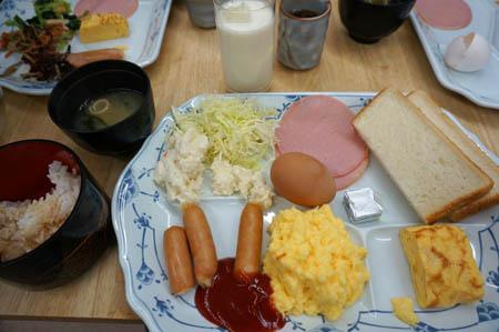 シャトーおだか朝食