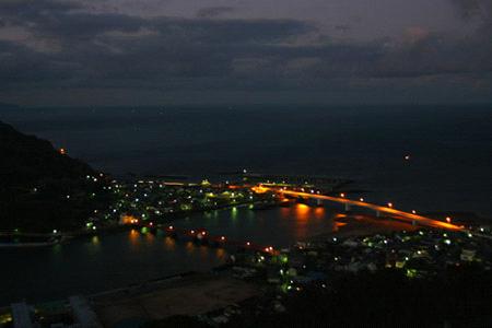 夜明け前の肱川