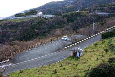 肱川あらし展望公園駐車場
