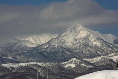 冬の蒜山高原