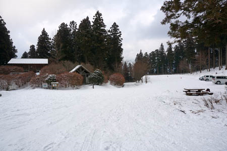 冬の上林森林公園