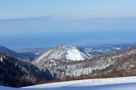 豪円山と日本海
