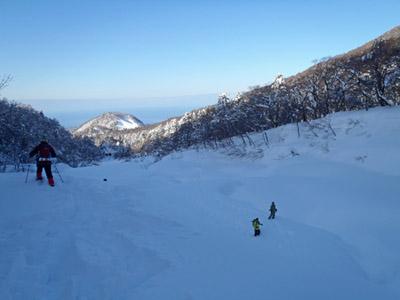 冬の元谷スノーシュー