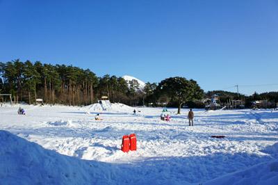 雪の大山森の国