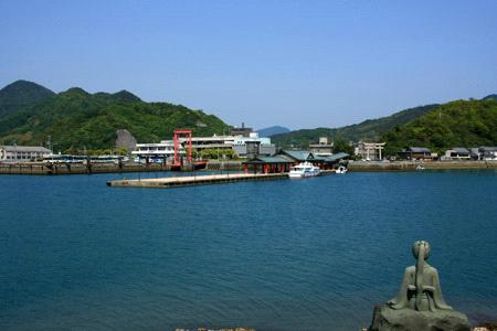 鶴姫像と大三島