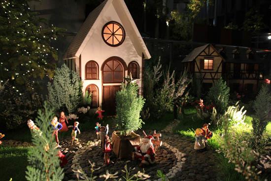 クリスマスの奇跡の星の植物館