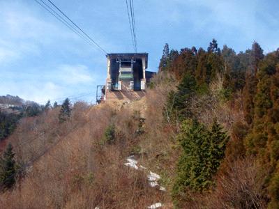 石鎚登山ロープウェイ山頂駅