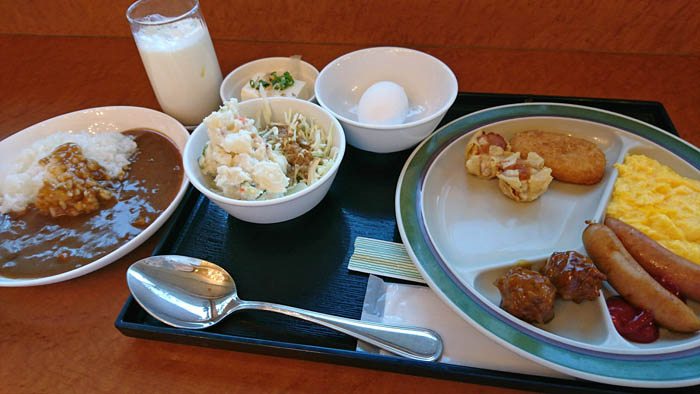 チェックイン松山朝食