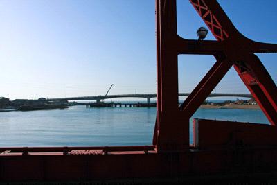 長浜大橋と新長浜大橋