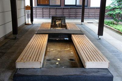 亀ヶ池温泉足湯