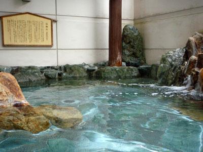亀ヶ池温泉露天風呂