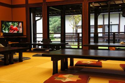 亀ヶ池温泉休憩室